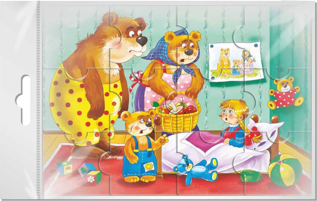 """Издательская группа Квадра Пазл для малышей Три медведя, Издательская группа """"Квадра"""""""