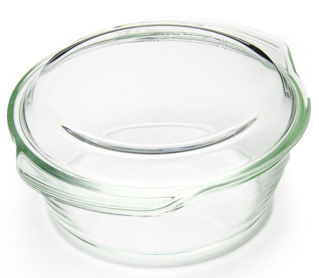 """Кастрюля """"Loraine"""" изготовлена из термостойкого стекла. Форма кастрюли круглая с двумя ручками по краям.  Посуда из термостойкого стекла будет отличным выбором для всех любителей блюд, приготовленных в духовке и микроволновой печи. Стеклянное изделие не вступает в реакцию с готовящейся пищей, а потому не выделяет никаких вредных веществ, не подвергается воздействию кислот и солей. Из-за невысокой теплопроводности пища в стеклянной посуде гораздо медленнее остывает. Стеклянная посуда очень удобна для приготовления и подачи самых разнообразных блюд: супов, вторых блюд, десертов.  Подходит для использования в духовках, микроволновых печах и морозильных камерах (при постепенном охлаждении и нагреве выдерживает температуру от -40С до 400С).  Подходит для мытья в посудомоечной машине."""
