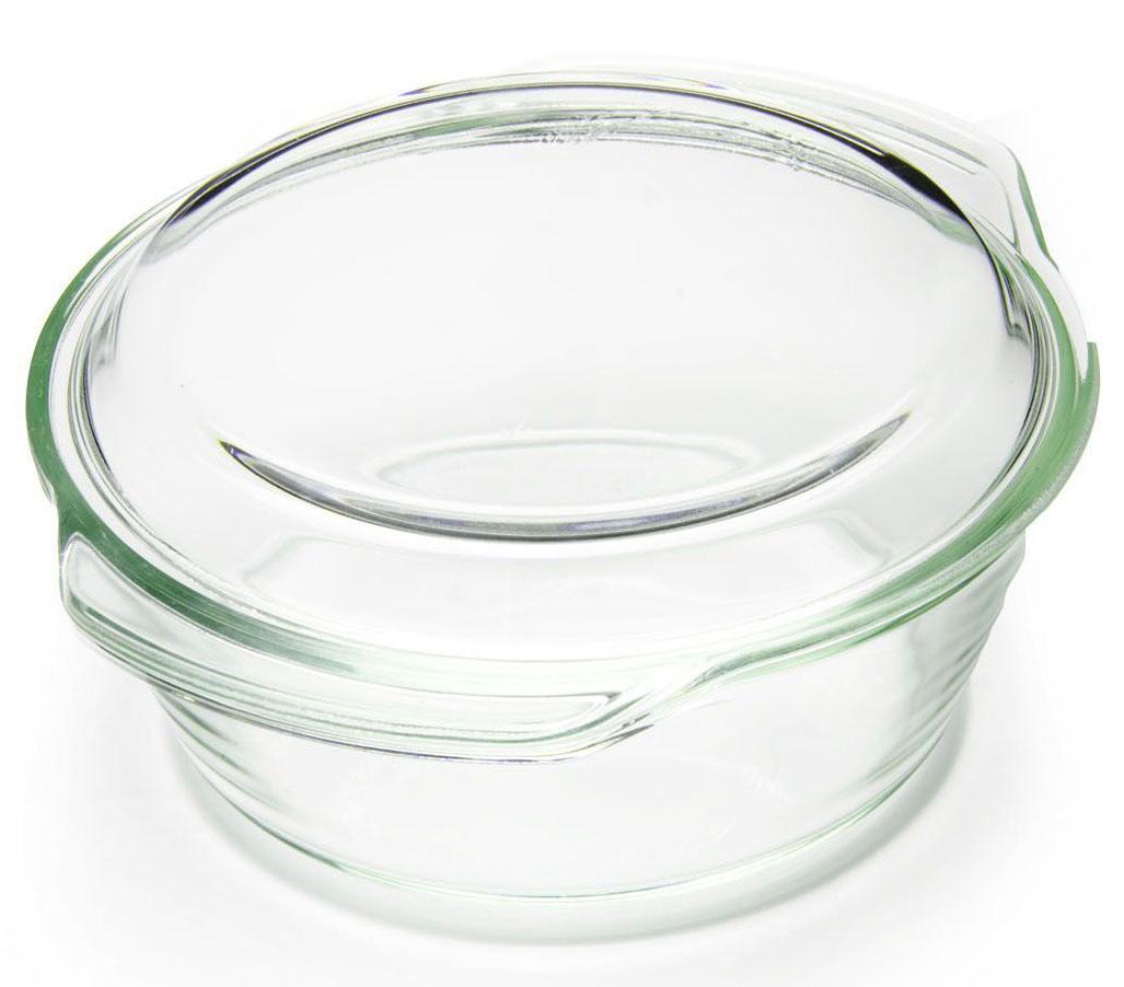 Кастрюля для СВЧ Loraine, с крышкой, 2 л26269Кастрюля Loraine изготовлена из термостойкого стекла. Форма кастрюли круглая с двумя ручками по краям. Посуда из термостойкого стекла будет отличным выбором для всех любителей блюд, приготовленных в духовке и микроволновой печи. Стеклянное изделие не вступает в реакцию с готовящейся пищей, а потому не выделяет никаких вредных веществ, не подвергается воздействию кислот и солей. Из-за невысокой теплопроводности пища в стеклянной посуде гораздо медленнее остывает. Стеклянная посуда очень удобна для приготовления и подачи самых разнообразных блюд: супов, вторых блюд, десертов. Подходит для использования в духовках, микроволновых печах и морозильных камерах (при постепенном охлаждении и нагреве выдерживает температуру от -40С до 400С). Подходит для мытья в посудомоечной машине.