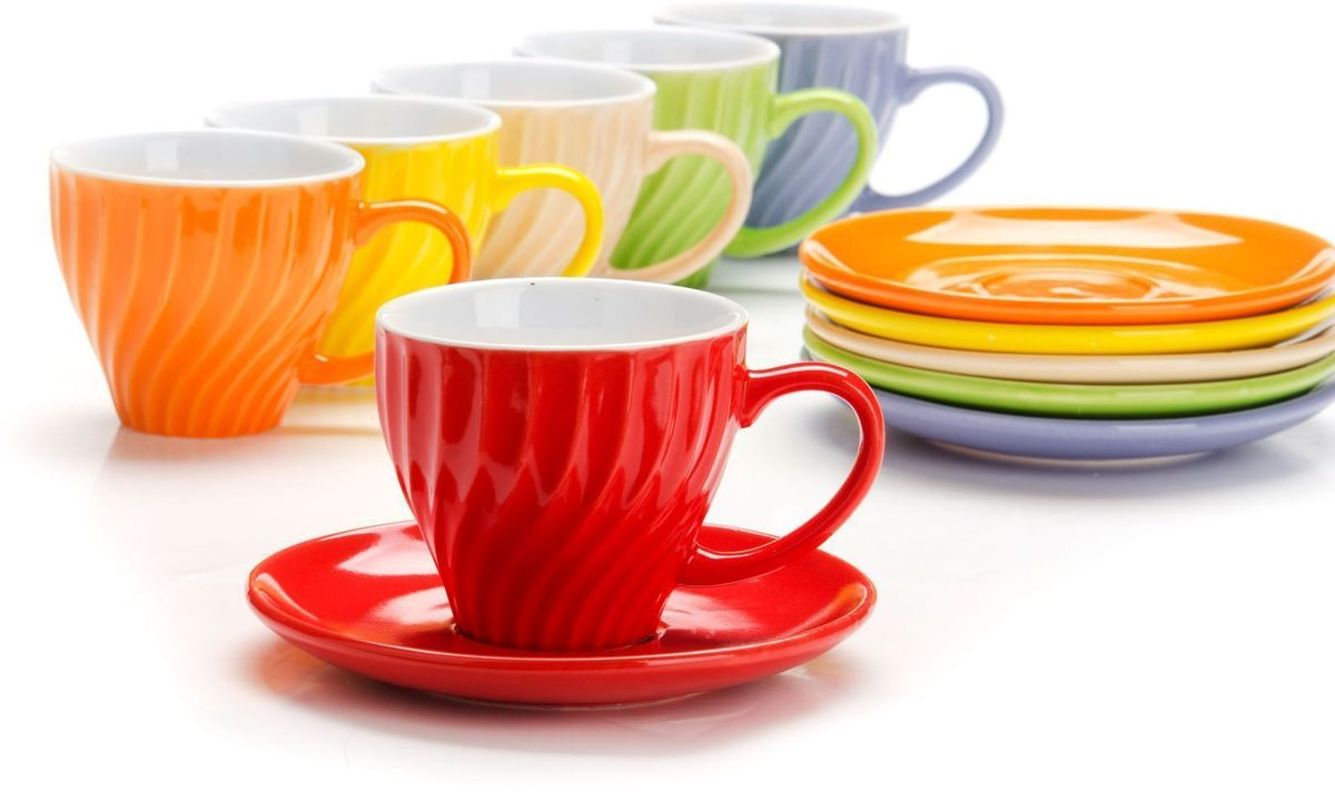 Сервиз чайный Loraine, 12 предметов. 26552 creative набор для творчества украшаем чайный сервиз
