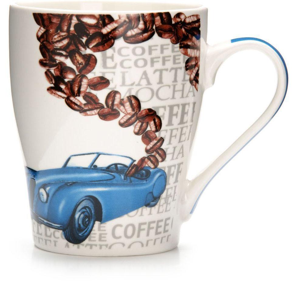 Кружка Loraine Автомобиль, 340 мл. 26584-126584-1Кружка Loraine, выполненная из костяного фарфора и украшенная ярким рисунком, станет красивым и полезным подарком для ваших родных и близких. Дизайн изделия придется по вкусу и ценителям классики, и тем, кто предпочитает утонченность и изысканность.Кружка настроит на позитивный лад и подарит хорошее настроение с самого утра.Изделие пригодно для использования в микроволновой печи и холодильника.Подходит для мытья в посудомоечной машине.