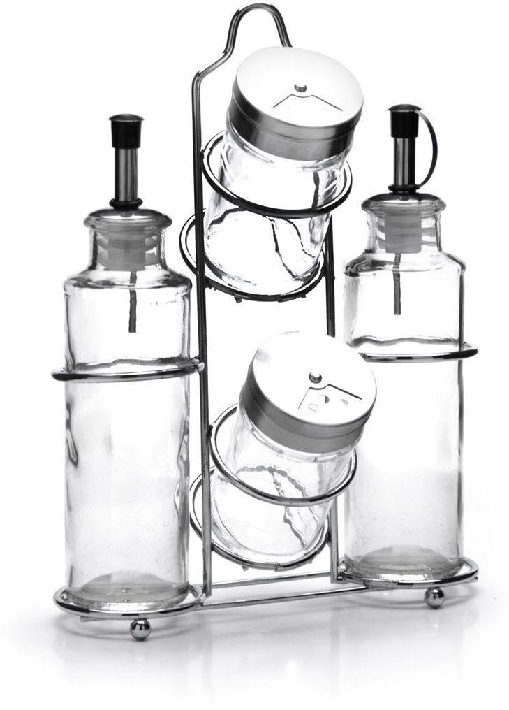 """Набор для хранения специй """"Mayer & Boch"""", выполненный из  высококачественного стекла, идеально подходит для любой  кухни. Баночки можно наполнять любыми используемыми вами  специями. Герметичное закрытие обеспечит самое лучшее  хранение, и специи всегда будут свежими. Специальная  подставка сделает хранение баночек еще более удобным.  Наслаждайтесь приготовлением пищи с вашим набором  баночек для специй. Модный элегантный дизайн скрасит  интерьер вашей кухни. Объем баночек: 165 мл, 85 мл."""