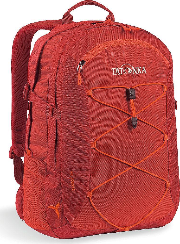 Рюкзак женский Tatonka Parrot, для учебы и работы, цвет: красный, 24 л сумка для медикаментов tatonka first aid family цвет красный