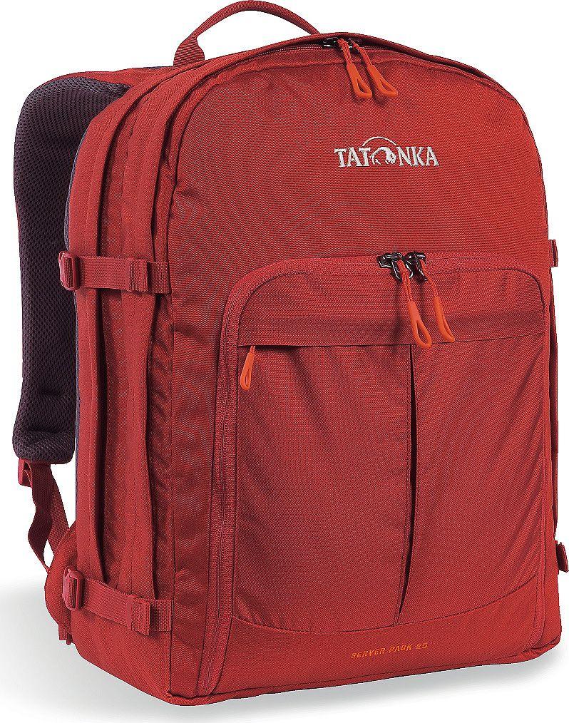 Рюкзак городской Tatonka Server Pack, для учебы и работы, цвет: красный, 25 л сумка для медикаментов tatonka first aid family цвет красный
