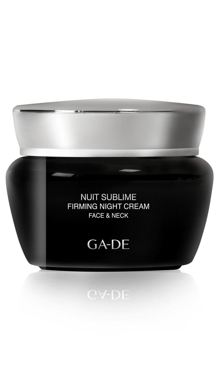 GA-DE Ночной крем для лица и шеи Nuit Sublime, 50 мл крем для лица для упругости отзывы