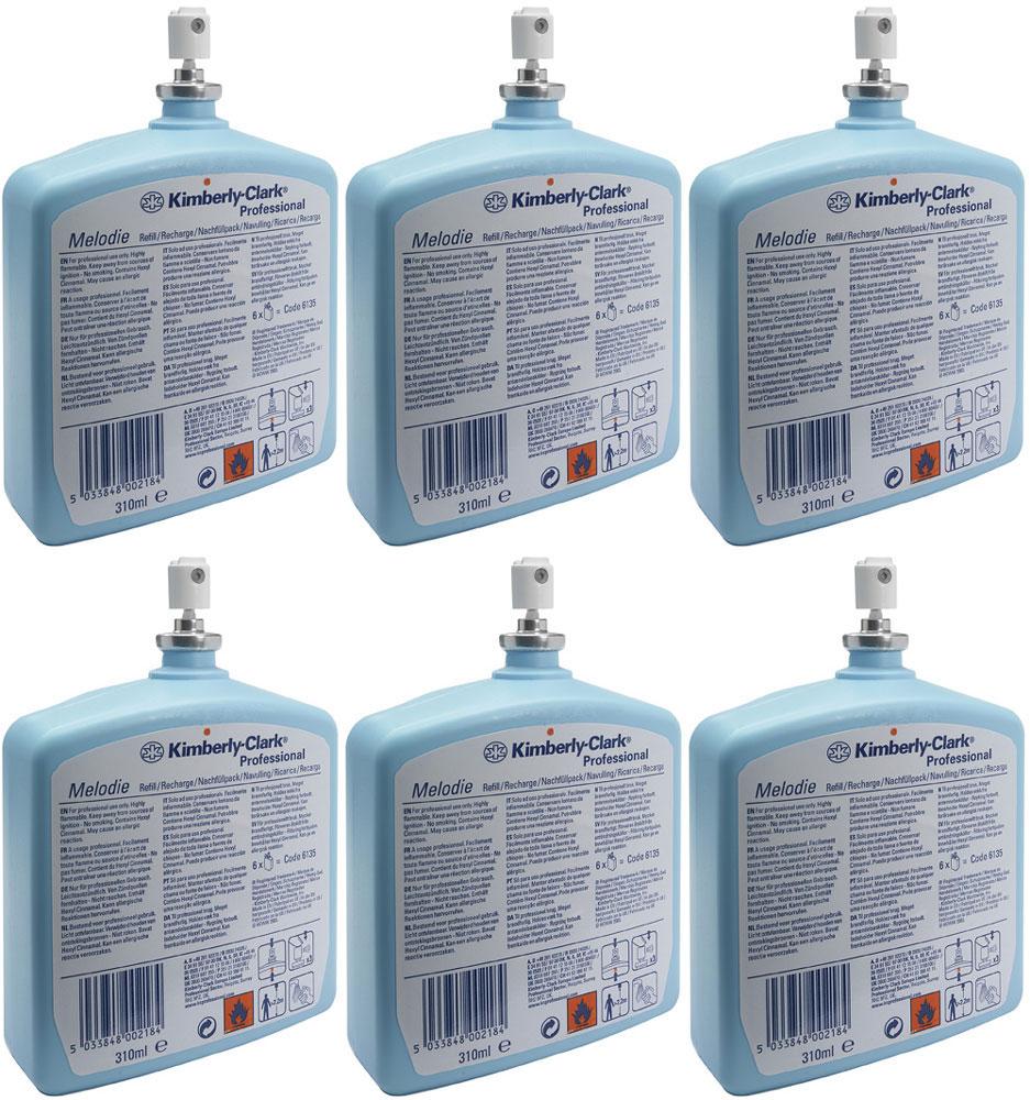 Освежитель воздуха Kimberly-Clark  Professional  Melodie, 6 сменных блоков по 310 мл. 6135 - Бытовая химия