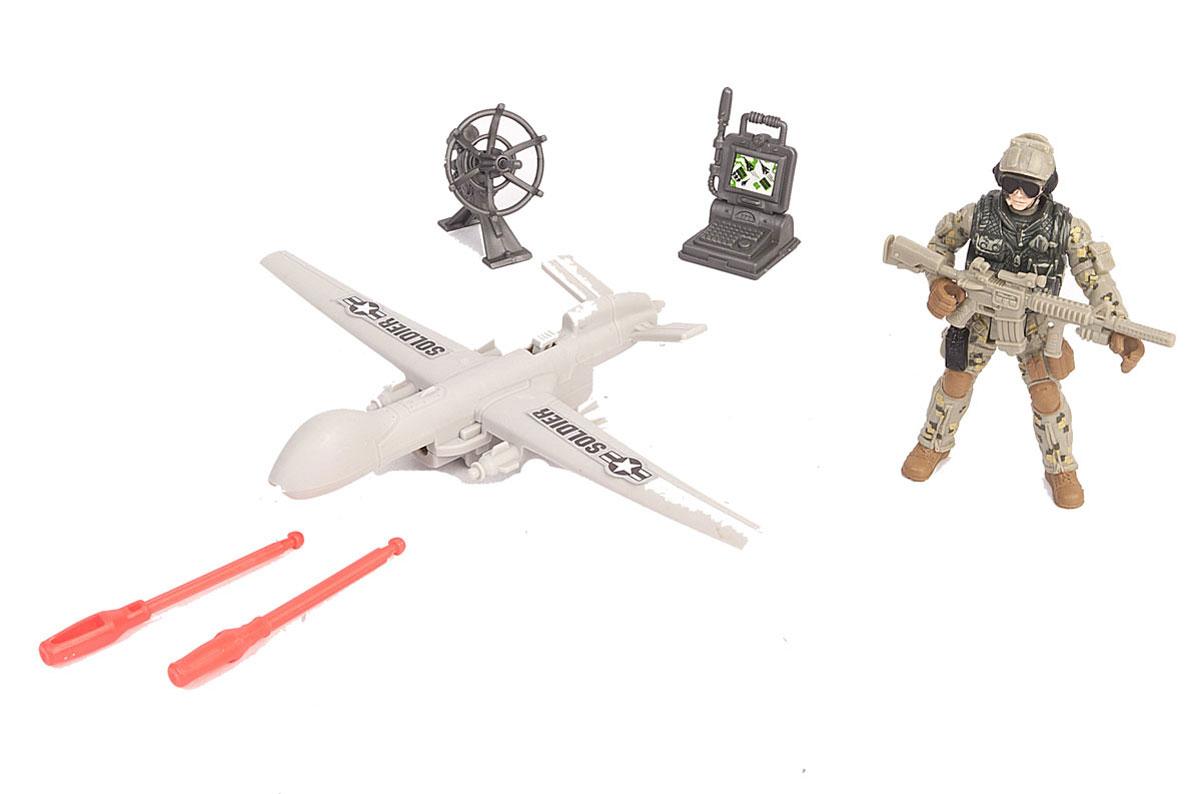 Chap Mei Игровой набор Разведчик с беспилотником chap mei игровой набор акванавт на скутере