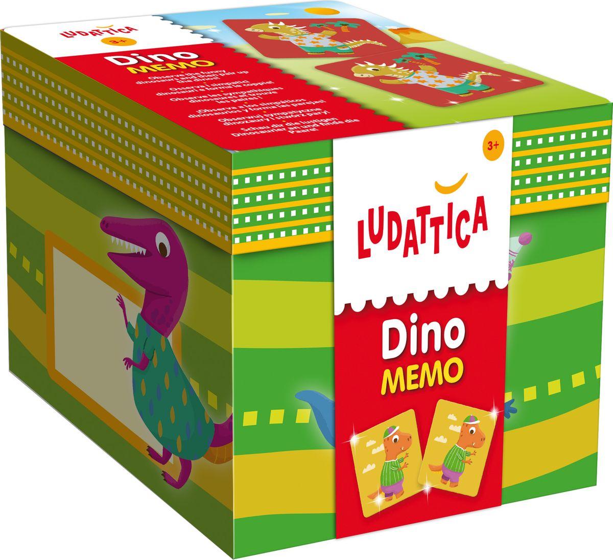 Ludattica Обучающая игра Мемори Динозавры