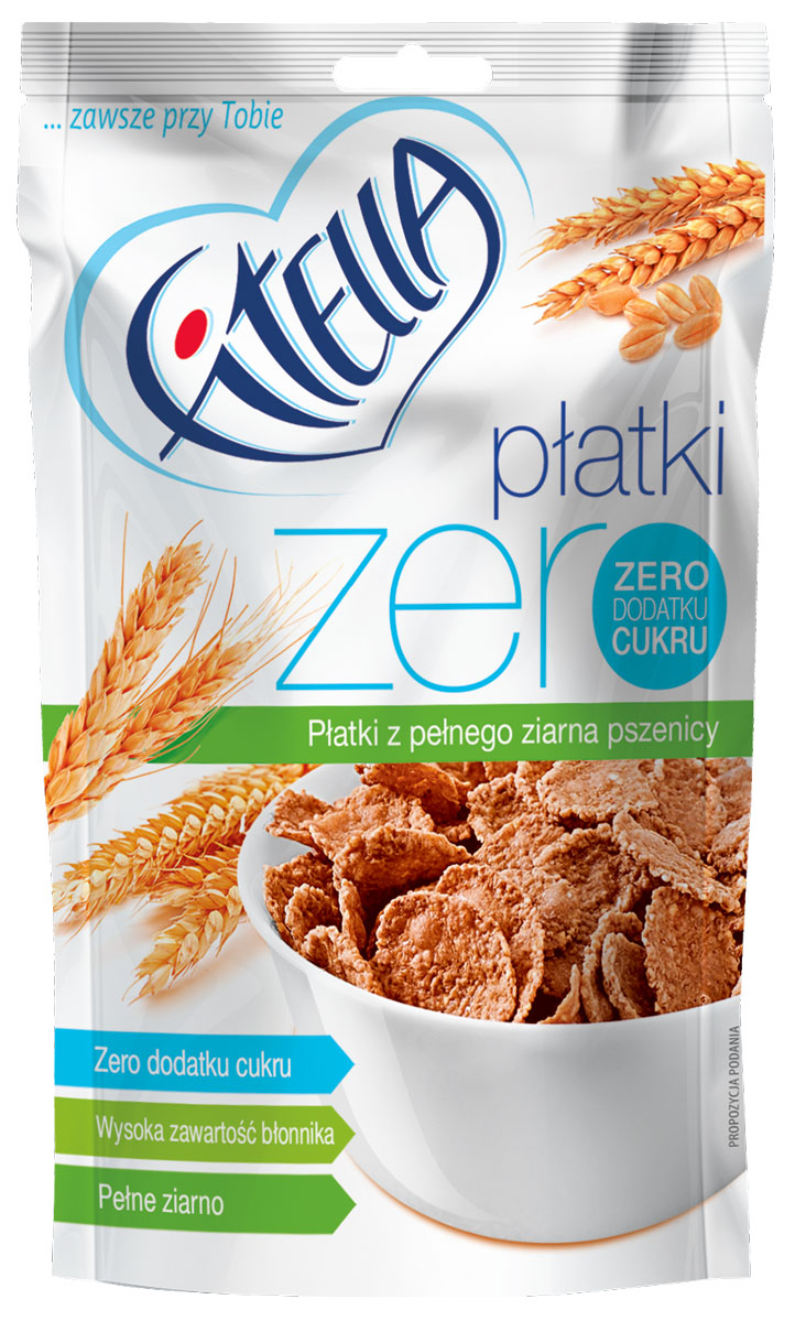 Fitella Zero хлопья пшеничные цельнозерновые, 40 г14282Fitella - это европейский бренд на рынке сухих завтраков, который уже завоевал доверие и популярность среди потребителей Европы. Хлопья из цельного зерна без сахара. Абсолютно натуральный состав: Пшеница цельнозерновая - это клетчатка, пищевые волокна, ненасыщенные и полиненасыщенные жиры, заменимые и незаменимые аминокислоты. Отруби пшеничные – большое количество клетчатки, натуральный сорбент, очищение организма. Эмульгатор: моно- и диглицериды жирных кислот.Несмотря на свое сложное название, добавка имеет натуральное происхождение.