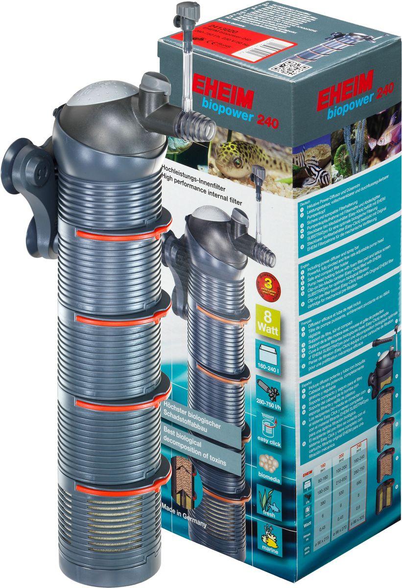 Фильтр внутренний Eheim Biopower, для аквариумов до 240 л аквариум для рыб eheim vivaline 240 240л черный
