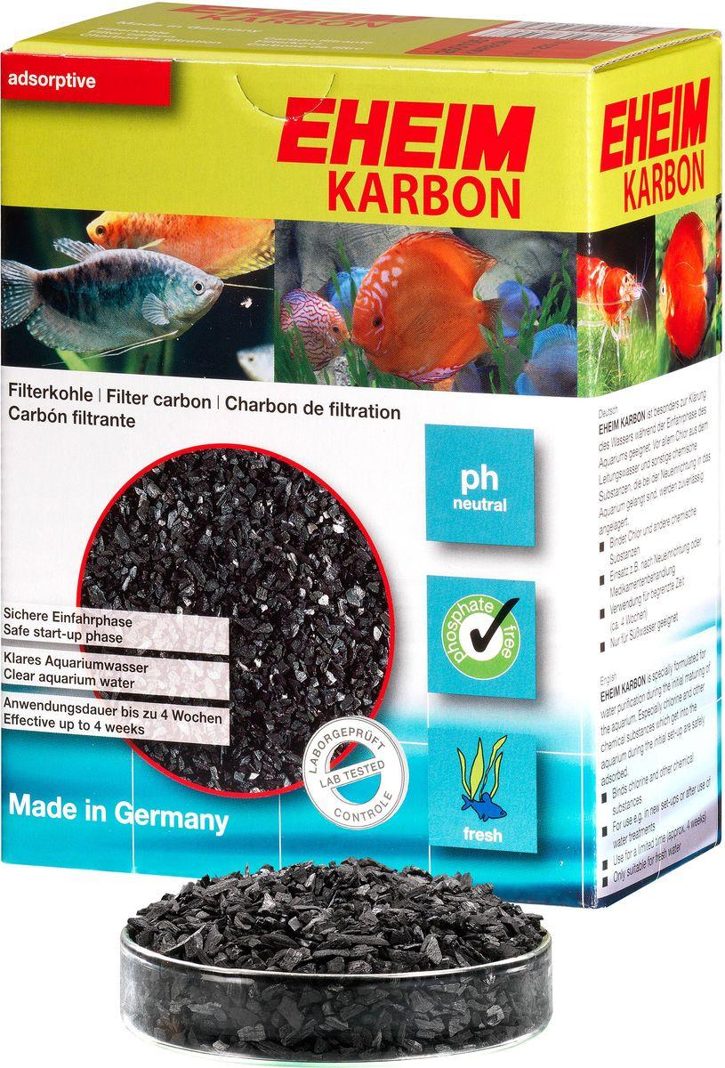 Наполнитель для фильтра Eheim Karbon, активированный уголь, 1 л2501051Уголь Eheim Karbon обеспечивает быстрый сбор растворенных в воде вредных веществ, пестицидов. Не содержит тяжелых металлов, обладает нейтральным уровнем pH.