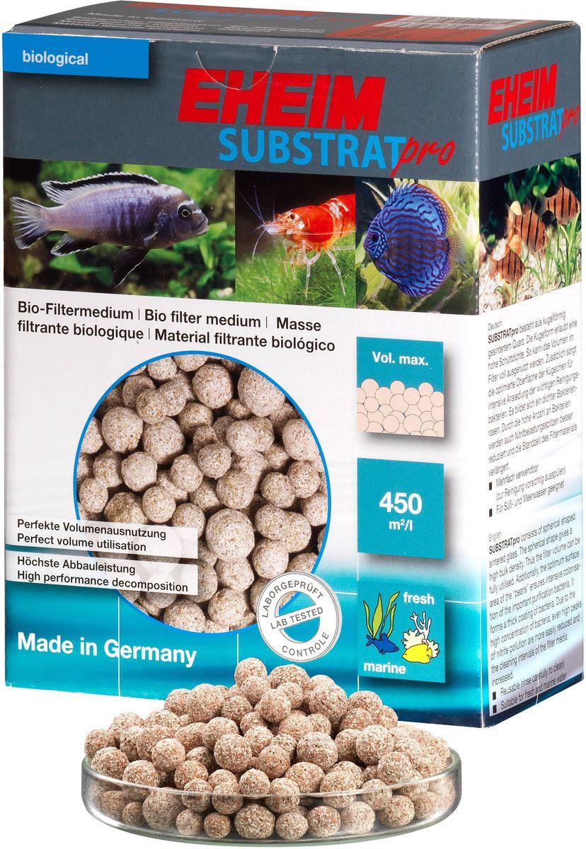 Наполнитель для фильтра Eheim Substratpro, субстрат круглый, 1 л2510051Наполнитель для фильтра Eheim Substratpro - фильтрующий материал сферической формы. Эффективно заполняет объем фильтра и предоставляет максимальную площадь для размещения колоний бактерий. Снижает пиковые показатели нитритов. Для морских и пресноводных аквариумов.