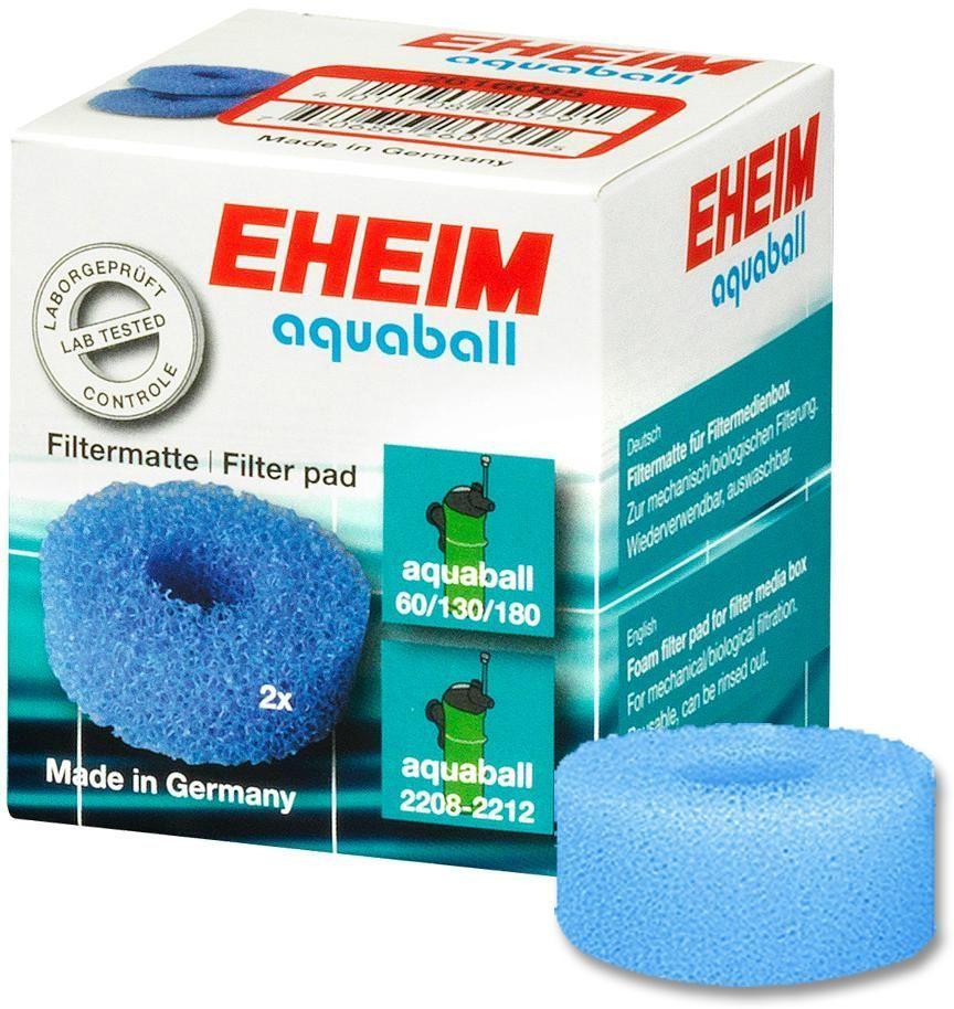 Наполнитель для фильтра Eheim Aquaball 60/130/180, поролон, 2 шт eheim фильтр внутренний eheim aquaball 180