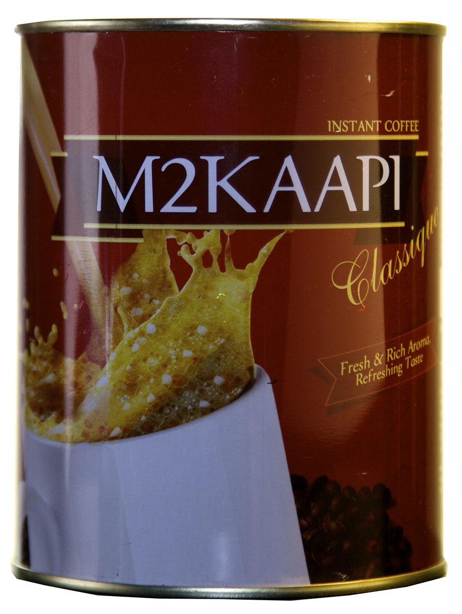 M2Kaapi кофе растворимый гранулированный, 200 гУТ18100% натуральный кофе растворимый гранулированный M2Kaapi. Кофе не содержит искусственных добавок и ароматизаторов, содержит 3,77 % кофеина.