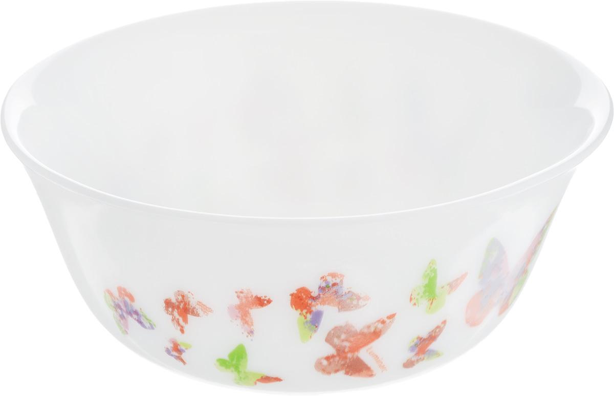 Салатник Luminarc Minesence, диаметр 12 смL1480Великолепный круглый салатник Luminarc Minesence, изготовленный из ударопрочного стекла, прекрасно подойдет для подачи различных блюд: закусок, салатов или фруктов. По бокам изделие оформлено оригинальным принтом. Такой салатник украсит ваш праздничный или обеденный стол, а оригинальное исполнение понравится любой хозяйке. Бренд Luminarc - это один из лидеров мирового рынка по производству посуды и товаров для дома. В основе процесса изготовления лежит высококачественное сырье, а также строгий контроль качества. Товары для дома Luminarc уважают и ценят во всем мире, а многие эксперты считают данного производителя эталоном совершенства. Диаметр салатника (по верхнему краю): 12 см.