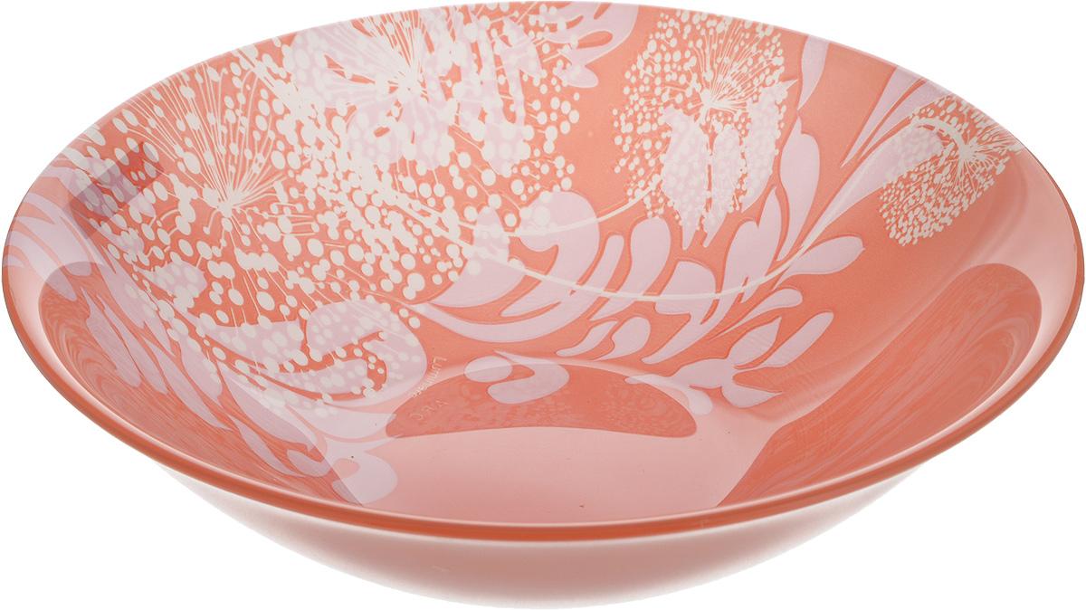 Салатник Luminarc Pium Pink, диаметр 17 смJ5566Великолепный круглый салатник Luminarc Pium Pink, изготовленный из ударопрочного стекла, прекрасно подойдет для подачи различных блюд: закусок, салатов или фруктов. С внутренней стороны изделие оформлено оригинальным цветочным принтом. Такой салатник украсит ваш праздничный или обеденный стол, а оригинальное исполнение понравится любой хозяйке. Бренд Luminarc - это один из лидеров мирового рынка по производству посуды и товаров для дома. В основе процесса изготовления лежит высококачественное сырье, а также строгий контроль качества. Товары для дома Luminarc уважают и ценят во всем мире, а многие эксперты считают данного производителя эталоном совершенства. Диаметр салатника (по верхнему краю): 17 см.