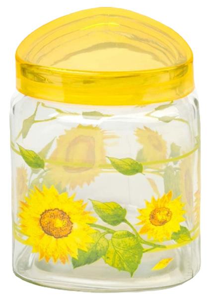 Банка для сыпучих продуктов Attribute Sunflower, с крышкой, 1000 млDM9957