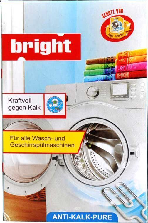 Чистящее средство от накипи Bright, для посудомоечных и стиральных машин, 250 г чистящее средство для кофемашины siemens таблетки для удаления накипи tz80002