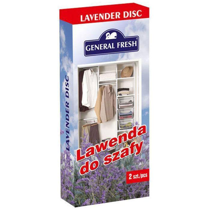 """Освежитель воздуха Fresh """"Antimol Disk"""" одарен теплым ароматом лаванды прямо с солнечных  полей Прованса. Идеально подходит для шкафов и ящиков любого типа, расцветая в них  царством нежных запахов цветов."""