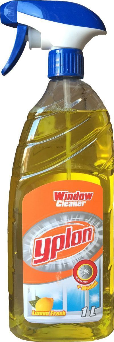 Средство для мытья стекол Yplon Lemon Fresh, спрей, 1 л