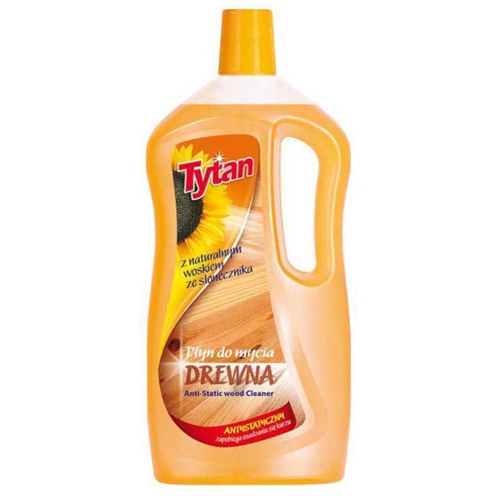 Жидкость для мытья деревянных поверхностей Tytan, 1 л714010Формула жидкости была разработана таким образом, чтобы оберегать очищаемые поверхности при каждом использовании. Жидкость обогащена антистатическим веществом, предотвращающим оседание пыли на убираемых поверхностях. Придает поверхностям нежный блеск - не оставляет разводов. Оставляет свежий и приятный запах. Товар сертифицирован.