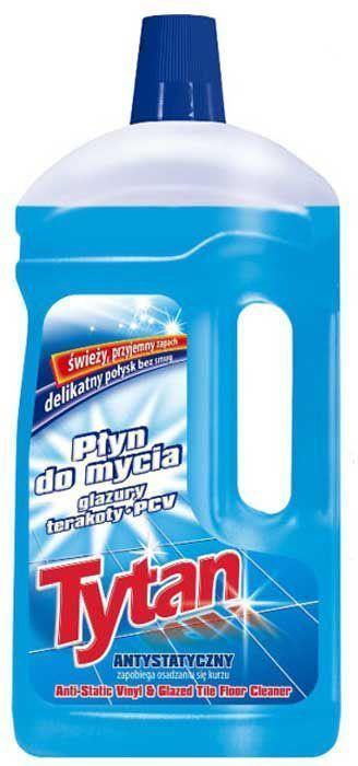 Жидкость Tytan, для мытья глазурованной плитки, терракоты, полов из ПВХ, 1 л714210Формула жидкости была разработана таким образом, чтобы оберегать очищаемые поверхности при каждом использовании. Жидкость обогащена антистатическим веществом, предотвращающим оседание пыли на убираемых поверхностях. Придает поверхностям нежный блеск - не оставляет разводов. Оставляет свежий и приятный запах.Уважаемые клиенты! Обращаем ваше внимание на возможные изменения в дизайне упаковки. Качественные характеристики товара остаются неизменными. Поставка осуществляется в зависимости от наличия на складе.Как выбрать качественную бытовую химию, безопасную для природы и людей. Статья OZON Гид