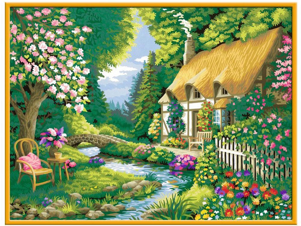 Ravensburger Картина по номерам Дом в саду