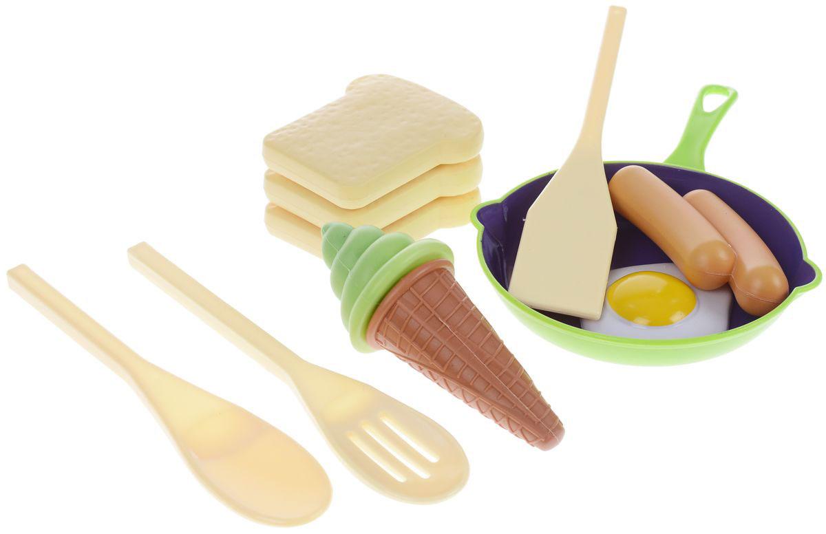 ABtoys Игрушечный набор Готовим завтрак abtoys игрушечный набор маленький доктор