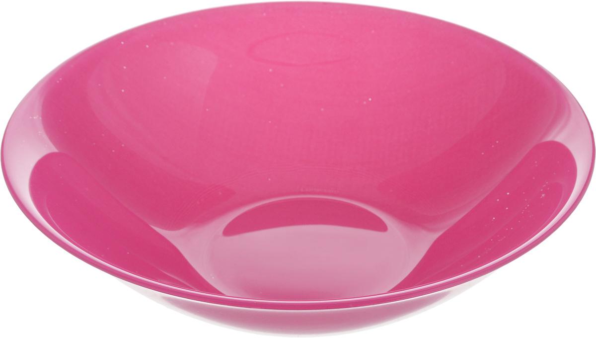 Салатник Luminarc Arty Pink, диаметр 16,5 смL2857Классический салатник Luminarc Arty Pink изготовлен из ударопрочного стекла. Изделие прекрасно подойдет для подачи различных блюд: закусок, салатов или фруктов. Бренд Luminarc - это один из лидеров мирового рынка по производству посуды и товаров для дома. В основе процесса изготовления лежит высококачественное сырье, а также строгий контроль качества. Товары для дома Luminarc уважают и ценят во всем мире, а многие эксперты считают данного производителя эталоном совершенства.Диаметр салатника (по верхнему краю): 16,5 см.Высота салатника: 4,5 см.