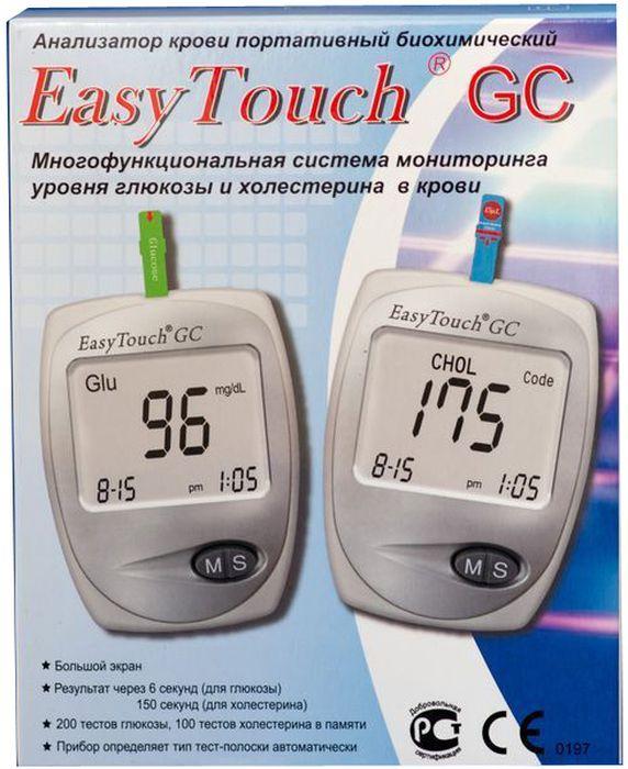 Анализатор глюкозы и холестерина EasyTouch GC