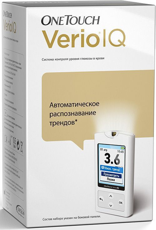 Глюкометр OneTouch Verio IQ onetouch verio iq глюкометр