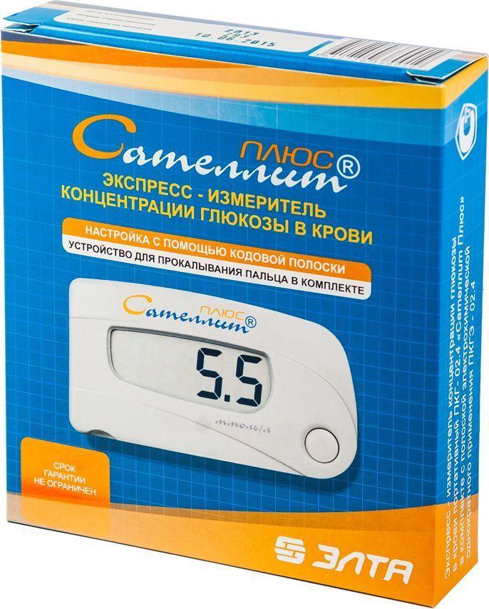 Глюкометр  Сателлит Плюс  - Диагностика