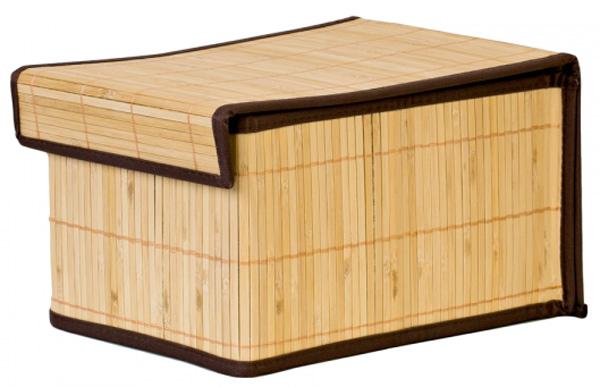 Коробка для хранения Attribute Бамбук, 20 х 27 х 15 см ваза mughal l 20 х 20 х 30 см