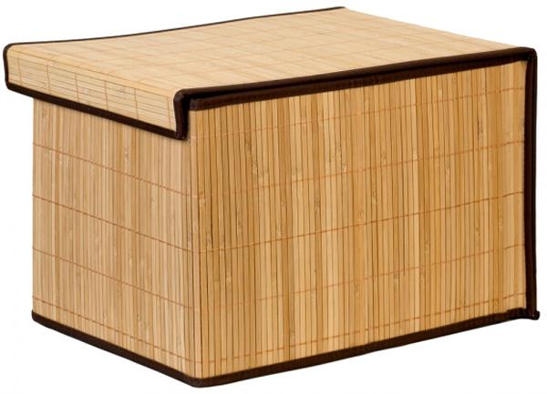 Коробка для хранения Attribute Бамбук, 30 х 40 х 25 см коробка для хранения miolla 40 х 30 х 20 см cfb 03