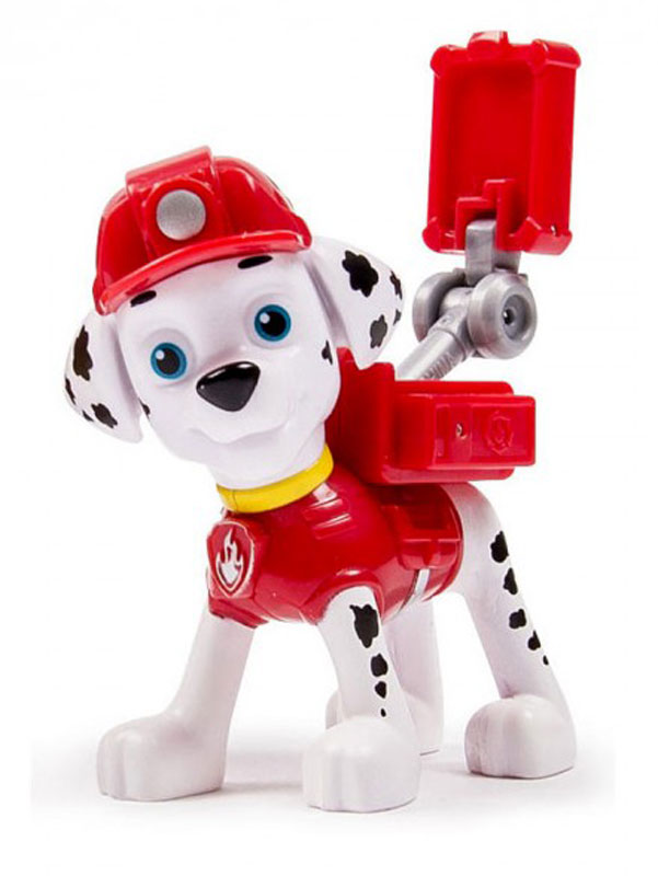 Paw Patrol Фигурка Щенок спасатель Marshall игрушка paw patrol фигурка спасателя с питомцем paw patrol