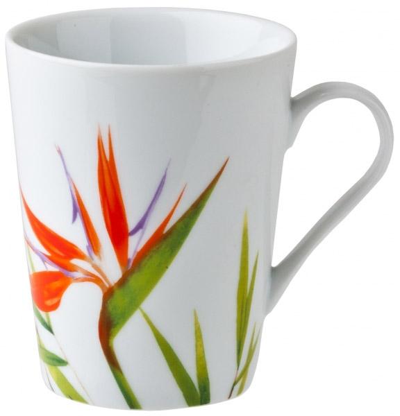 Кружка Domenik Bamboo, 400 млDM9028Стильная кружка для чаепития Bamboo выполнена из утонченного фарфора и украшена элегантным рисунком. Ее можно мыть в посудомоечной машине. Объем: 400 мл.