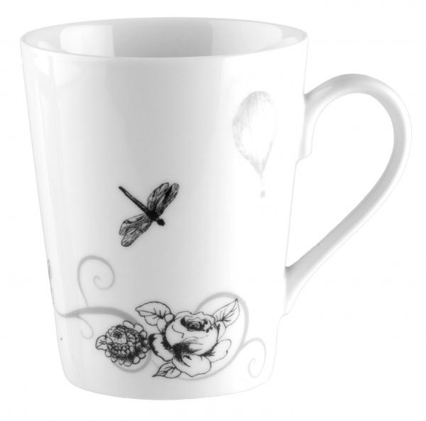 Кружка Domenik Once Upon A Time, 400 млDM9270Стильная кружка для чаепития Once Upon A Time выполнена из утонченного фарфора и украшена элегантным рисунком. Ее можно мыть в посудомоечной машине. Объем: 400 мл.