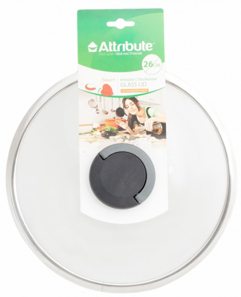 Крышка для посуды Attribute Smart, 26 см. ALS326ALS326