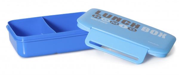 Ланч-бокс Attribute , цвет: голубой, 950 млATC4021Ланч-бокс Attribute изготовлен из прочного пищевого пластика. В комплекте прилагается крышка подходящего размера, которая плотно и надежно закрывается и упрощает процесс транспортировки. Такой контейнер можно использовать не только на кухне, но и для хранения различных бытовых предметов, а также брать с собой еду на работу или учебу. Изделие оснащено разделителем, что позволяет разместить разнообразные продукты от салатов до супов. Не использовать пластиковые контейнеры в духовых шкафах и на открытом огне, а также не разогревать в микроволновых печах при закрытой крышке ланч-бокса. Можно мыть в посудомоечной машине.