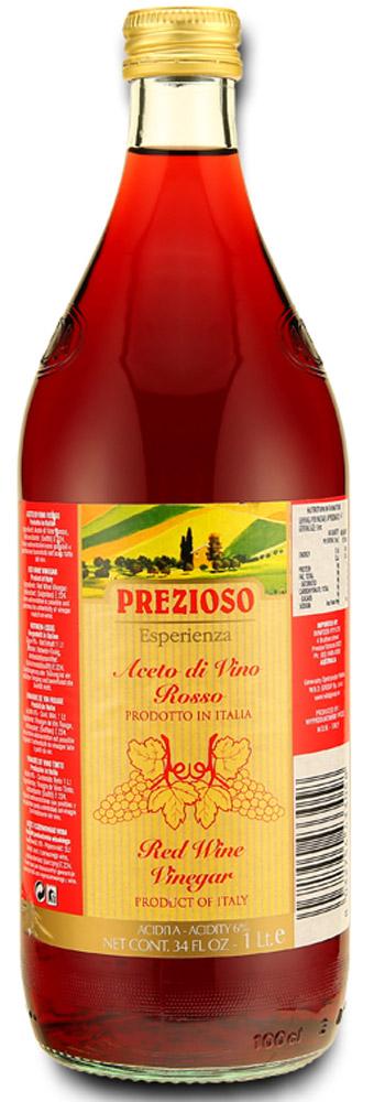 где купить Prezioso Esperienza Уксус винный красный 6%, 1 л по лучшей цене