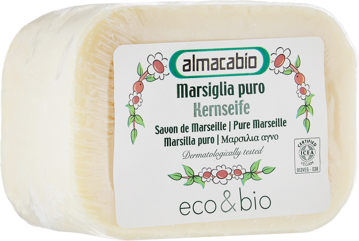 Мыло для стирки Almacabio Марсельское, 250 г косметика для мамы la cigale мыло марсельское мед 4 шт по 100 г