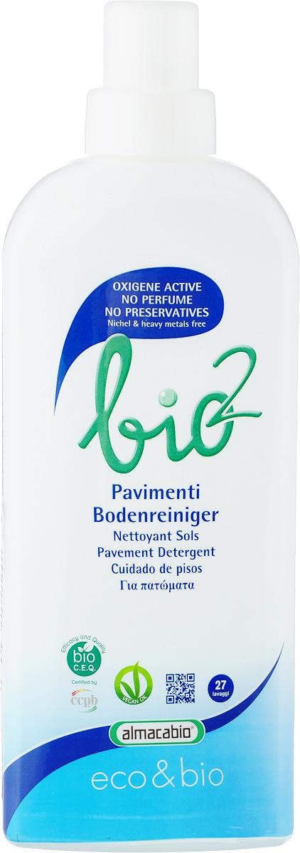 Средство для мытья пола Almacabio  Bio 2 Pavements Oxygen Active , 1 л -  Бытовая химия