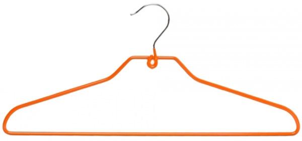 Набор вешалок универсальных Attribute Hanger Neo Orange, 42 см, 5 шт