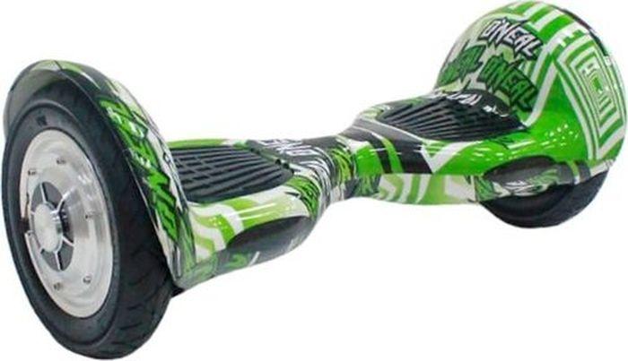 Гироскутер Smart Balance 10, цвет: Green Multicolor (зеленый, мультиколор) самокат explore smart green