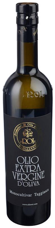 Roi Оливковое масло Extra Vergine из оливок Ogliarola Taggiasca, 500 мл8014512007015Нерафинированное оливковое масло из оливок двух сортов: 50% таджаска и 50% ольярола. Обладает нежным ароматом, сладковатым вкусом и имеет насыщенный желтый цвет.Масла для здорового питания: мнение диетолога. Статья OZON Гид
