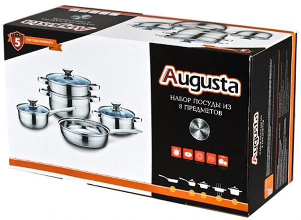 Набор посуды Attribute Augusta, 8 предметов. ASS401