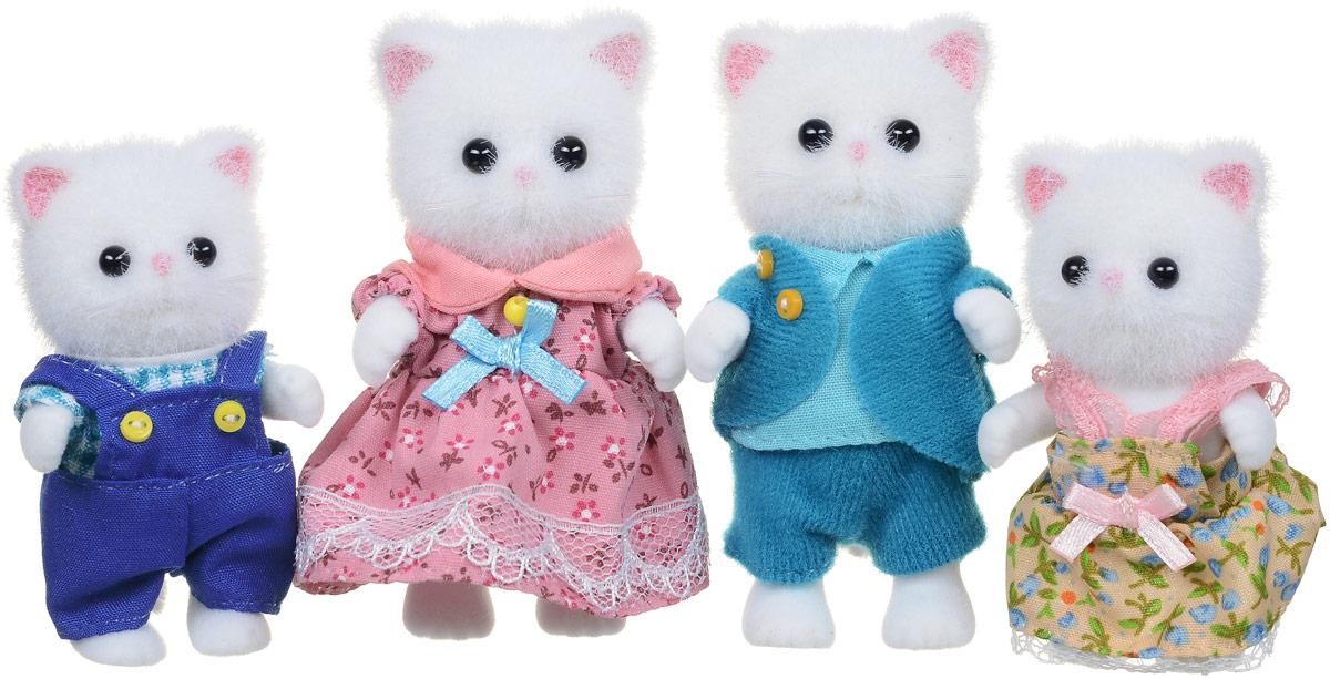 Sylvanian Families Набор фигурок Семья персидских котов 4 шт 3137 набор семья персидских котов new