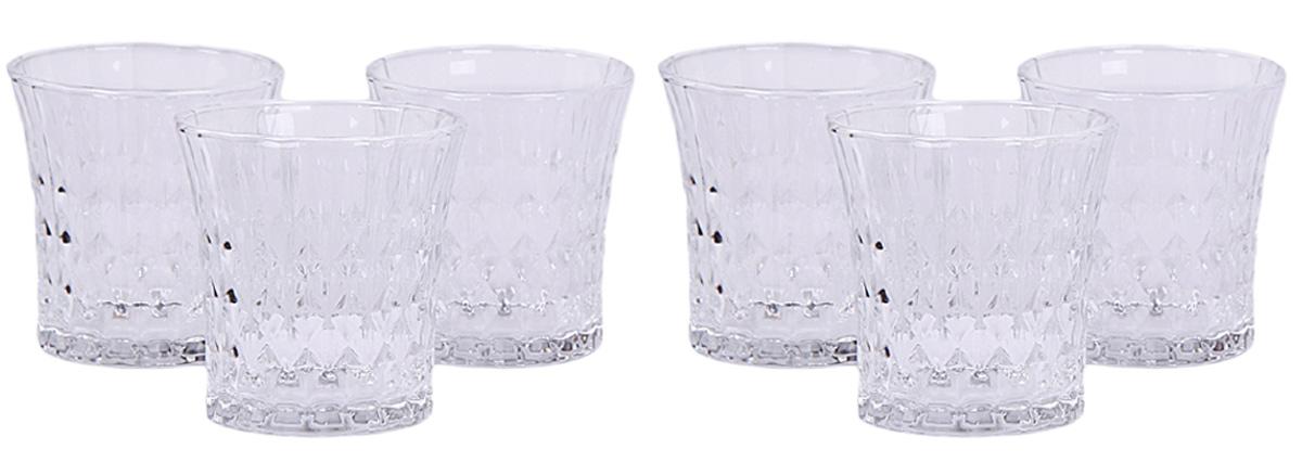 Набор стаканов Patricia, 300 мл, 6 шт. IM99-5712IM99-5712Набор стаканов Patricia - интересный дизайн, удобство в использовании. Казалось бы, такой простой предмет сервировки стола, однако, благодаря уникальному дизайну и бесспорной практичности этого набора стаканов, ваш стол всегда будет предметом восторженных взглядов и разговоров, а вкус хозяйки будет тотчас оценен гостями.