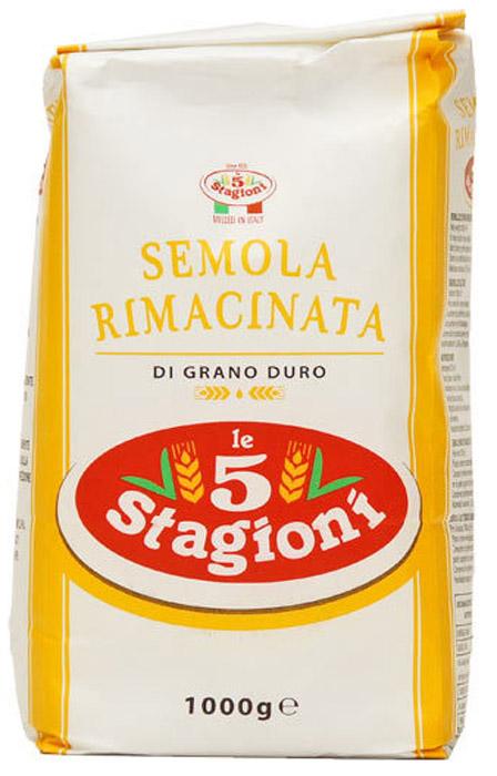 5 Stagioni Semola Di Grano Duro мука из твердых сортов пшеницы, 1 кг honeymammy позиционер для новорожденных grano saraceno n