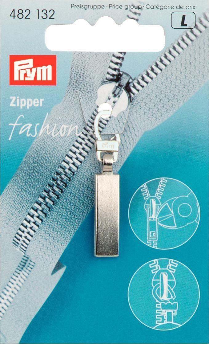 Zakazat.ru Подвеска для молнии Prym, с карабином, цвет: серебристый матовый